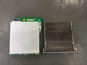 エアコンフィルター交換 NCP20 ファンカーゴ
